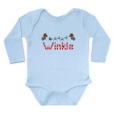 Winkle, Christmas Long Sleeve Infant Bodysuit