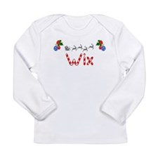 Wix, Christmas Long Sleeve Infant T-Shirt