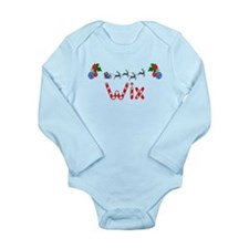 Wix, Christmas Long Sleeve Infant Bodysuit