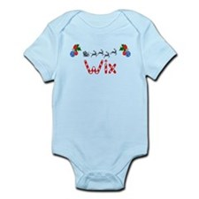 Wix, Christmas Infant Bodysuit