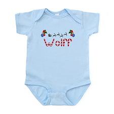 Wolff, Christmas Infant Bodysuit