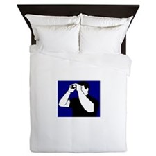 Birding is Fun! Icon Queen Duvet