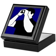 Birding is Fun! Icon Keepsake Box
