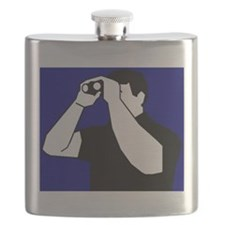 Birding is Fun! Icon Flask