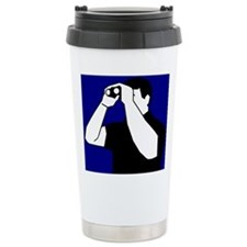 Birding is Fun! Icon Stainless Steel Travel Mug