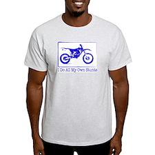 Dirtbike Ash Grey T-Shirt