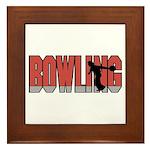Bowling Nuts Framed Tile