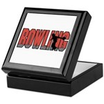 Bowling Nuts Keepsake Box