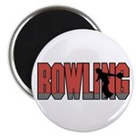 Bowling Nuts Magnet