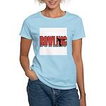 Bowling Nuts Women's Pink T-Shirt