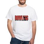 Bowling Nuts White T-Shirt
