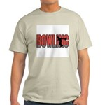 Bowling Nuts Ash Grey T-Shirt