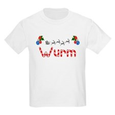 Wurm, Christmas T-Shirt