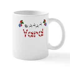 Yard, Christmas Mug