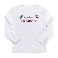 Zachariah, Christmas Long Sleeve Infant T-Shirt