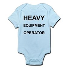 Heavy Equipment Operator Infant Bodysuit