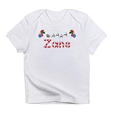 Zane, Christmas Infant T-Shirt