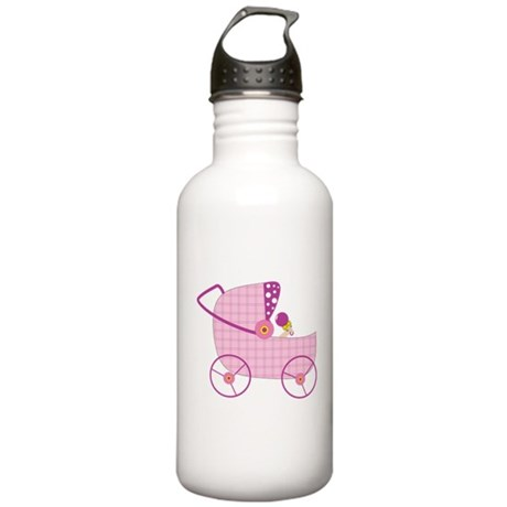 Baby Stroller Stainless Water Bottle 1.0L