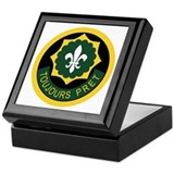 2nd acr Square Keepsake Boxes