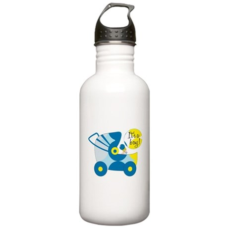 Its A Boy Stainless Water Bottle 1.0L
