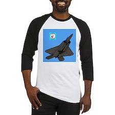 Unique F 22 raptor aircraft Baseball Jersey