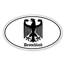 Deutschland (German) Eagle Decal