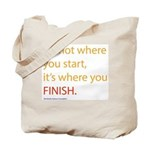 Start*Finish - Tote Bag