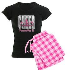 Personalized Cheer Design Pajamas