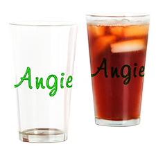 Angie Glitter Gel Drinking Glass