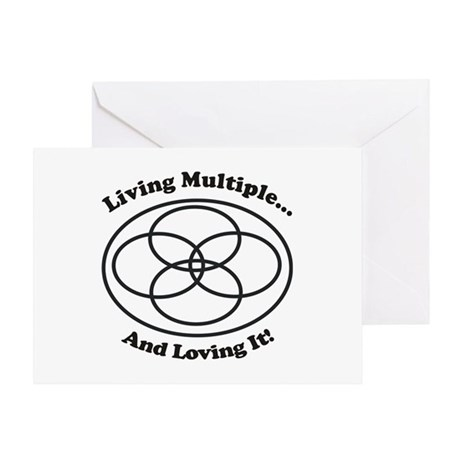 Living Multiple Loving It! Greeting Card