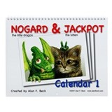 Nogard &amp;amp; Jackpot Wall Calendar