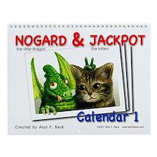 Nogard & Jackpot Wall Calendar