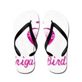 I Love/Heart Frigate Birds Flip Flops