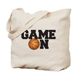 Game On Basketball Tote Bag