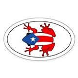 Puerto Rico - PR - Coqui Decal