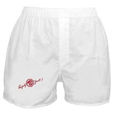 Large Red Safety Fast Boxer Shorts