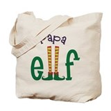Papa Elf Tote Bag
