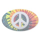 Tie-Dye Peace Decal