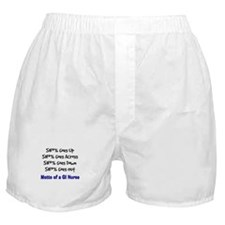 motto of a GI nurse.PNG Boxer Shorts
