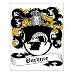 Buchner Coat of Arms Small Poster
