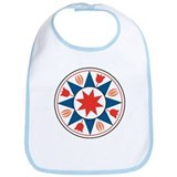 Eight Pointed Star Bib