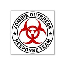 Zombie Outbreak Sticker