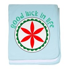 Good Luck baby blanket