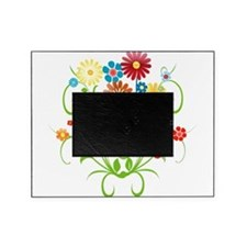 Floral bright pattern Picture Frame