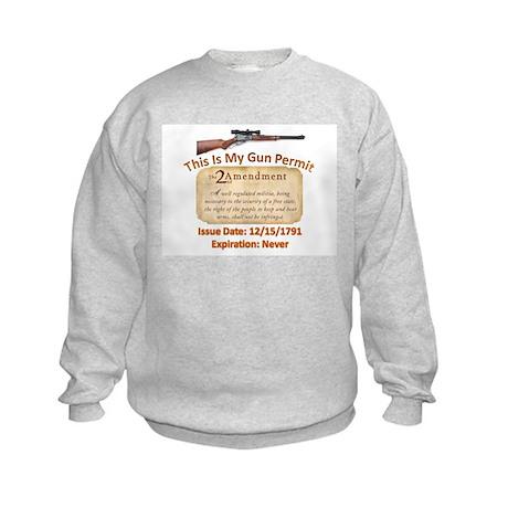 My Permit Kids Sweatshirt