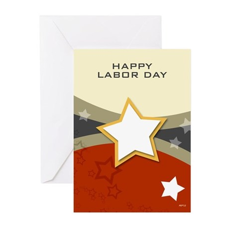 Happy Labor Day Greeting Cards (Pk of 10)