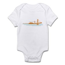 San Francisco Golden Gate Long Sleeve Onsie Body S