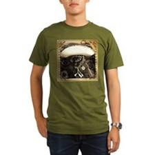 Caballero Cat 2, fancy sepia T-Shirt