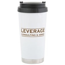 Leverage Consulting Ceramic Travel Mug