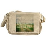 The Journey Messenger Bag